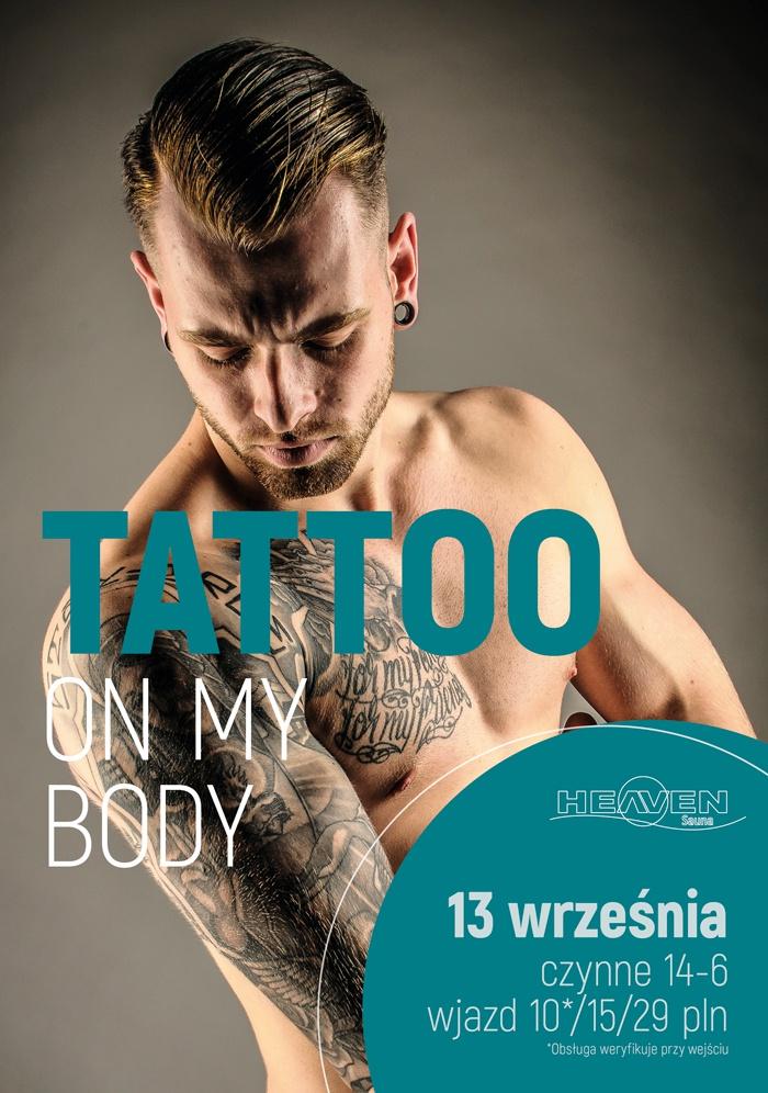 Tattoo on my body